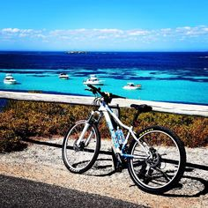 According to the locals Rottnest road is flat. My legs seemed to disagree. What a scenic ride though. #scenic #bike #ride #cycling #mountainbike #rottnestisland #blue #sea #bluesky #sunny #weekend #relax #exercise #live #life #living #joy #lovinperth #perthlife #amazing_wa #wa #australia by ninosarabutra http://ift.tt/1L5GqLp