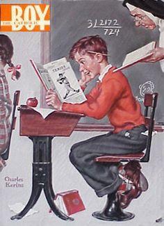 Catholic Boy magazine, 1950s