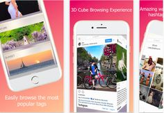 TrackBox for Instagram best hashtags of 3D Instagram