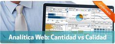 """07/06 Conferencia en #Madrid sobre """"#Analitica Web: #Cantidad vs #Calidad"""" #Analytics #estadisticas"""