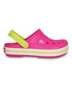 e6109ce31e4fa Crocs Neon Magenta   Citrus Crocband Clog