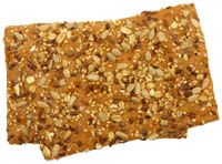 Recipe: pure natural crackers, full of seeds and seeds - Trendswoman Healthy Menu, Healthy Baking, Healthy Snacks, Low Carb Crackers, Vegan Crackers, Lean Cuisine, Low Carb Recipes, Healthy Recipes, Go For It