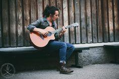 Matthew Veck-Gilodi from Deaf Havana. Faith Guitars