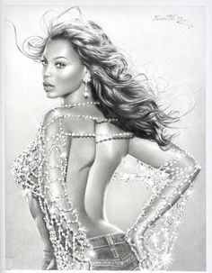 My favourite Beyonce Drawing by Libfly follow me for more celebes art.