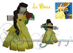 Escultura en cinta de la Princesa Bella!!