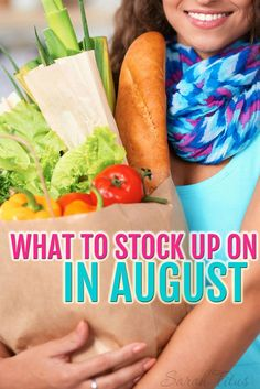 You could be leaving thousands of dollars on the table by not knowing what to stock up on each month. Quick list of what to stock up on in August and what you should be on the lookout for so you don't miss out on those deals! Frugality #frugal
