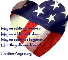 I'm a Proud Soldiers' Angel.  Please consider joining to support our troops.  :)