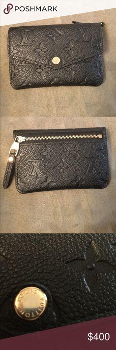8aa7cee270da Louis Vuitton Empreinte Noir Key Pouch Cles Wallet Louis Vuitton key pouch  in Noir