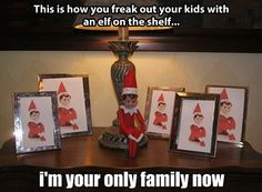 How to freak out your kids…