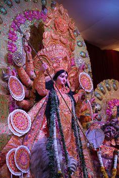 Durga ~ Reawaken the Remembrance Lord Durga, Durga Ji, Saraswati Goddess, Kali Goddess, Shiva Parvati Images, Durga Images, Lakshmi Images, Shiva Shakti, Maa Durga Photo