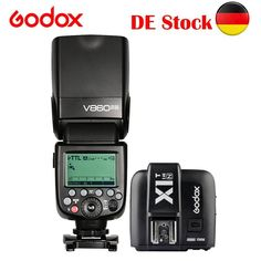 Godox V860II-N TTL Cámara Flash Speedlite X1T-N Transmisor Para Nikon D7200 D90