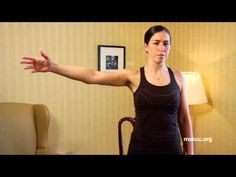 Exercises after Breast Reconstruction Surgery Using a Tissue Expander | Memorial Sloan Kettering - YouTube