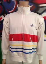 80S CASUALS ORIGINAL VINTAGE SERGIO TACCHINI ENZO TRACKSUIT TOP SMALL