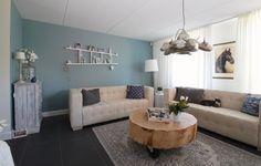Kleuradvies en indelingsadvies woonkamer Bemmel door Styling22