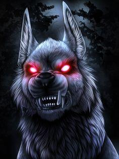 Monster Monday - Barghest by UKthewhitewolf on DeviantArt