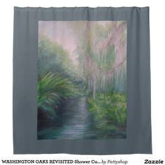 WASHINGTON OAKS REVISITED Shower Curtain