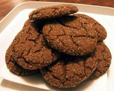 Classic Molasses Cookies, just like your nanny used to make! Everyone loves the classics! #cookies #molasses