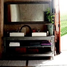 1000 images about salles de bain on pinterest euro tile and subway tiles - Table de drapier salle de bain ...