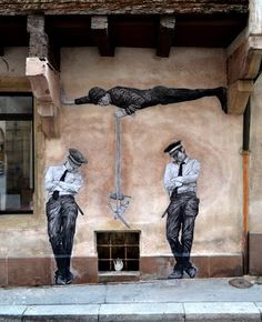 by Levalet - Rescue - Strasbourg, France - Oct 2015