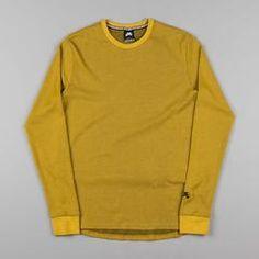 Nike SB Thermal Long Sleeve T-Shirt - Peat Moss / Black