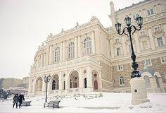 Odessa in winter