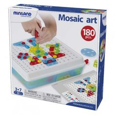 Mosaic Art. Brincar e Aprender. Brinquedos didácticos para crianças www.planetadidactico.com