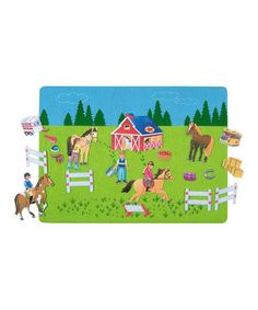Take a look at this Riding School Felt Tale Set by Babalu, Inc. on #zulily today!