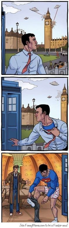Superman With the Doctor