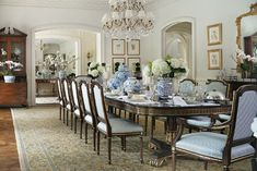 New Manor, Classic Style - Mill Neck - traditional - Dining Room - New York - MJW Architects