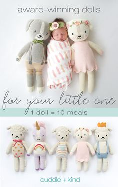 Oct 31, 2018 - Ethically produced, hand-knit dolls that help feed children in need. Each doll is hand knit in Peru by talented artisans with premium cotton.