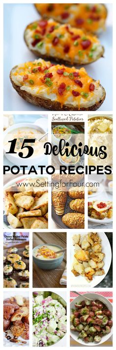 15 Delicious Potato Recipes you have to try! Includes recipes for potato casseroles soups baked fried mashed and more! 15 Delicious Potato Recipes you have to try! Includes recipes for potato casseroles soups baked fried mashed and more! Healthy Potato Recipes, Zuchinni Recipes, Sweet Potato Recipes, Mexican Food Recipes, Cauliflower Recipes, Vegtable Casserole Recipes, Healthy Casserole Recipes, Zucchini Casserole, Casseroles Healthy