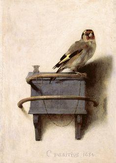 The Goldfinch, Carel Fabritius