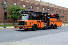 Seneca Nation, NY, Fire Dept.Gets Articulating Boom Platform Built by Rosenbauer