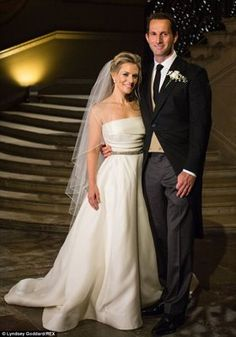14 Celeb Wedding from 2014 by Perfect Day Bride. Georgie Thompson & Sir Ben Ainslie