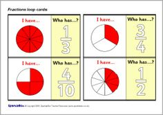 Print and cut out the manipulative fraction pizzas to make ...