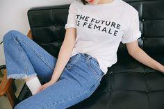 Le futur, c'est la femme.
