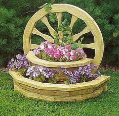 pinterest crafts with wagon wheels | uploaded to pinterest