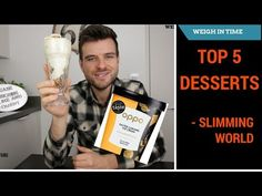 Slimming World Top 5 Desserts - Syn Free Sundae - Weigh In Time Slimming World Tips, Slimming World Desserts, Slimming World Recipes, Syn Free Desserts, Low Syn Treats, Oat Cookies, Banoffee, Dessert Drinks, Tray Bakes