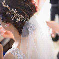 花嫁ヘア・ブライダルヘアで人気のヘアアクセサリー3選   marry[マリー]