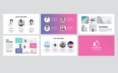 Creative Business Presentation PowerPoint TemplateClean, Creative and modern Presentation Template. Fully customization & super easy to use to fit any kind of Business Presentation, Presentation Templates, Photographer Portfolio, Business Powerpoint Templates, Creative Business, Design Trends, Modeling, Star, Digital