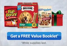 FREE Pet Coupon Booklet and Gift Tag on http://www.icravefreebies.com/