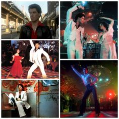 """We are continuing our """"Fashion Through Time"""" and the 1970s with the hit movie """"Saturday Night Fever""""  Saturday Night Fever is a 1977 American dance film directed by John Badham and starring John Travolta as Tony Manero, an immature young man whose weekends are spent visiting a local Brooklyn discothèque."""