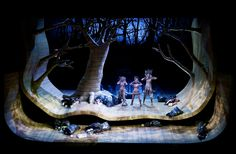 Rusalka from Volksoper Wien. Production by Renaud Doucet. Sets and costumes by André Barb.