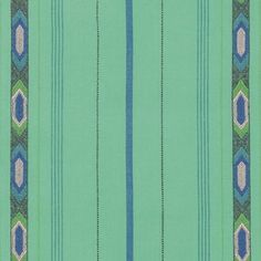 Tribe by Anna Maria Horner Loominous for Free Spirit Fabrics Bright Green and Blue Fabric - Quilt Fabric - Apparel Fabric Yarn Dyed Woven by Owlanddrum on Etsy Fabric Yarn, Cool Fabric, Blue Fabric, Modern Quilt Patterns, Fabric Patterns, Sewing Patterns, Anna Maria Horner, Free Spirit Fabrics, Fabric Labels