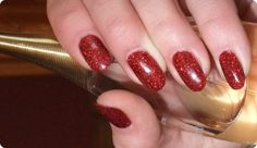 Nina's Nails lovely christmas red :O) Red Christmas, Gel Nails, Lipstick, Beauty, Nail Gel, Gel Nail, Lipsticks, Cosmetology