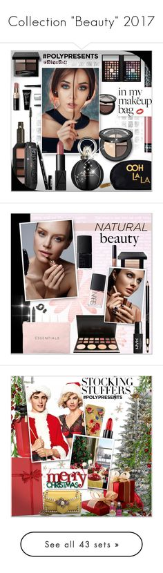 """Collection ""Beauty"" 2017"" by alves-nogueira ❤ liked on Polyvore featuring Beauty, makeup, beauty, Bobbi Brown Cosmetics, Sephora Collection, Rosanna, NYX, Bulgari, Kat Von D and Christian Louboutin"