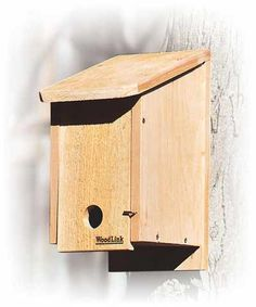 Roosting Box - A great way to provide shelter for your backyard birds in the winter against ice storms and high winds. Learn more: http://www.the-scoop-on-wild-birds-and-feeders.com/roostingboxes.html