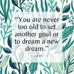 What goals and dreams do you have for this year? Whether it's the same as every year or new, stay with it, keep your eye on the end goal and you will eventually get there. Little by little, you create a new habit and therefore your accomplishments.⁣ Motivate Yourself, Improve Yourself, Never Too Old, Hope For The Future, Health And Wellness, Mental Health, Counseling, Coaching, The Past