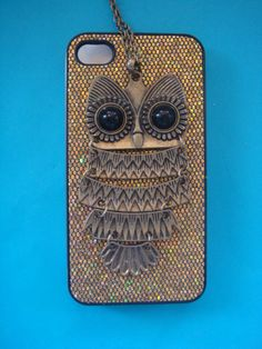 stop. too cute. Owl iPhone Case