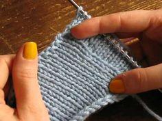 comment relever les mailles d un tricot